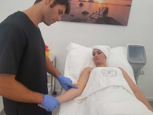 Paso 1: Extracción de sangre