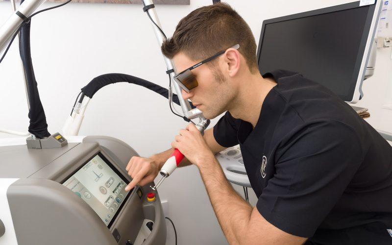 Tecnología láser para la eliminación de varices y arañas vasculares